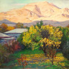 "Jora Hayrapetyan - ""Apricot Tree"" 2008 - Oil on canvas - 60x70cm"