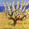 """Tree in Blossom N1"" - Oil on canvas - 41x50,5cm"
