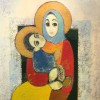 """Armenian Madonna"" - Oil on canvas - 120x100cm"